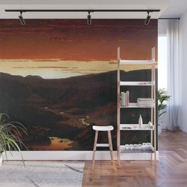 A Twilight in the Catskill Mountains by Sanford Robinson Gifford Wall Mural
