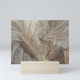 Warmth and comfort Mini Art Print