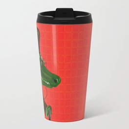 Wise Crocodile from Animal Society Travel Mug