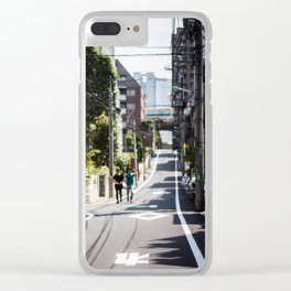 30+ degrees Clear iPhone Case