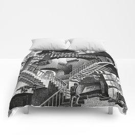 M.C. Escher - Relativity Comforters