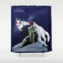 Princess Fen'harel Shower Curtain