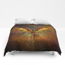 Phoenix Rising Comforters