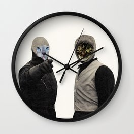 My Hat's Too Tight Wall Clock