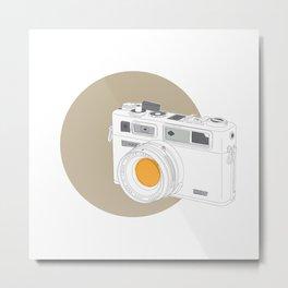 Yashica Electro 35 GSN Camera Metal Print