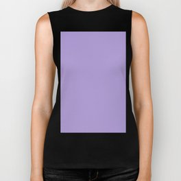 Light Pastel Purple Violet Biker Tank
