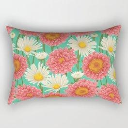 Kitschy Daisy Bouquet Rectangular Pillow