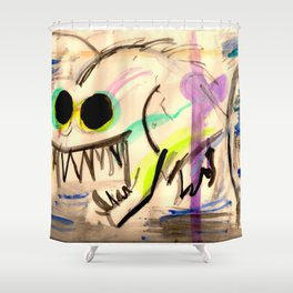 angler Shower Curtain