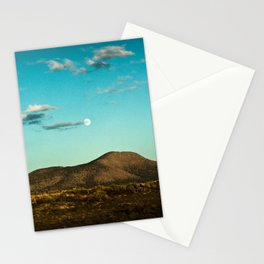 MOON OVER SOCORRO Stationery Cards