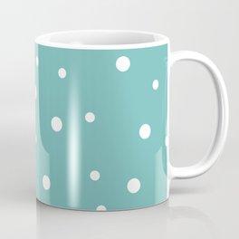 Seamless Polka Dots Pattern Coffee Mug