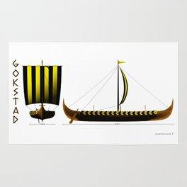 Gokstad Viking Ship Rug