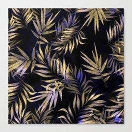 Golden Tropics Canvas Print