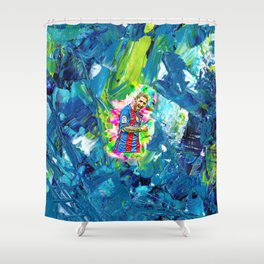 Messi Shower Curtain