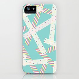 Washi [Green] iPhone Case