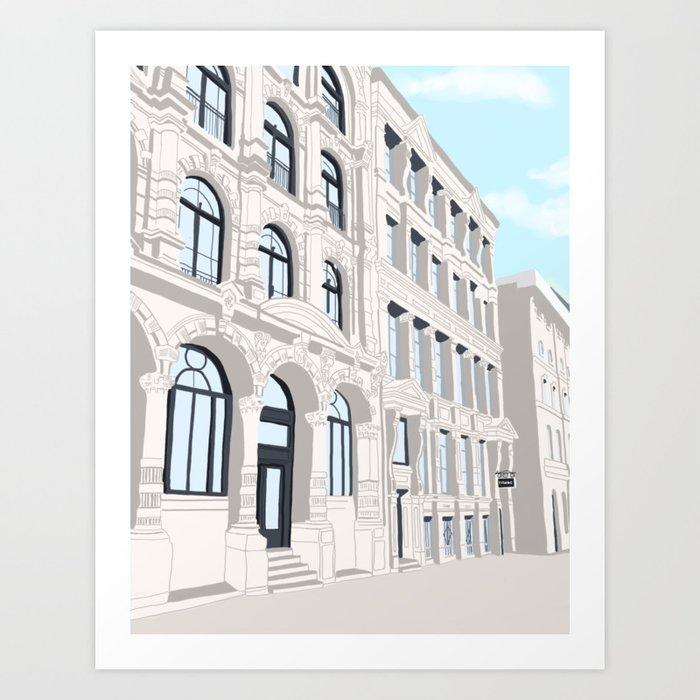 Montreal No. 1 Art Print