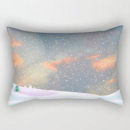My Snowland | Christmas Spirit Rectangular Pillow