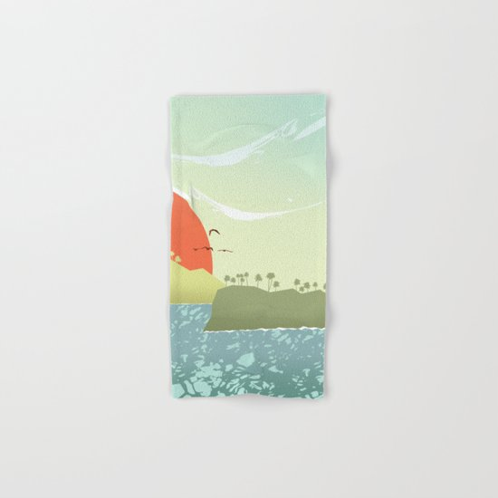 Tropical amor Hand & Bath Towel