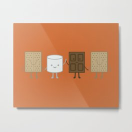 Life is S'more Fun Together Metal Print