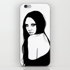 You Silent My Song iPhone & iPod Skin