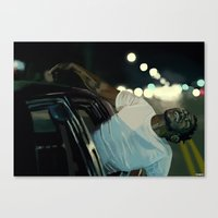 kendrick lamar Canvas Prints featuring Kendrick Lamar by Tomcii
