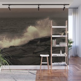 Abstract Splash Wall Mural