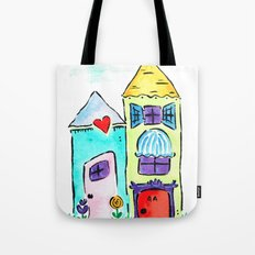 Apt 4A Watercolor Tote Bag