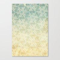 escher Canvas Prints featuring escher pattern by Vin Zzep