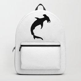 Bullhead Shark Silhouette Backpack