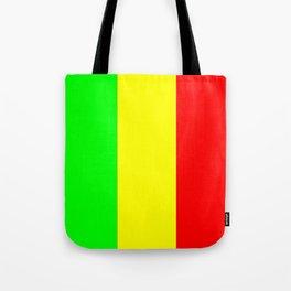 Flag of mali 2 -mali,malien,malienne,malian,bamako,tombouctou,timbuktu,sikasso,mopti,mande Tote Bag