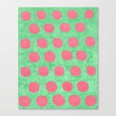 Summer Spots Canvas Print