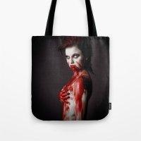 sin city Tote Bags featuring Sin City 10 by Kobaru