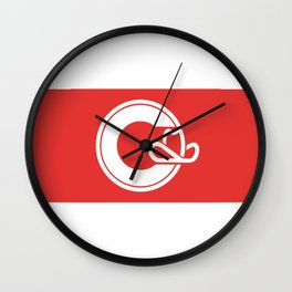 Flag of Calgary Wall Clock