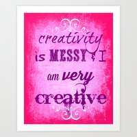 creativity Art Prints featuring Creativity by Urlaub Photography