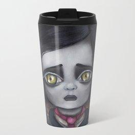 Young Poe Metal Travel Mug