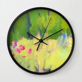 Magical Garden Wall Clock