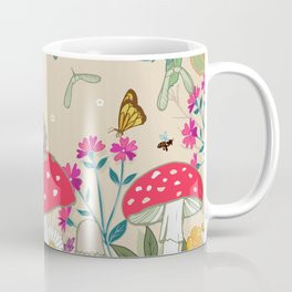 Toadstools in the Woods Coffee Mug