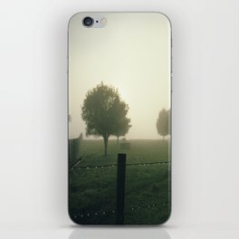 Misty Morning in the Waikato King Country iPhone Skin