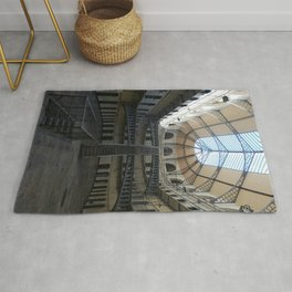 Glass ceiling Rug