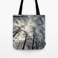 Sky-reaching Trees Tote Bag