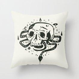 conjured  Throw Pillow