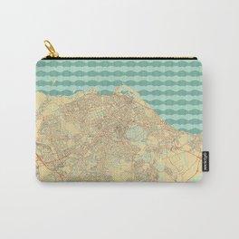 Edinburgh Map Retro Carry-All Pouch