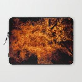Burning Fire Laptop Sleeve