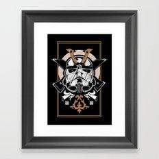 Trooper x Samurai Framed Art Print