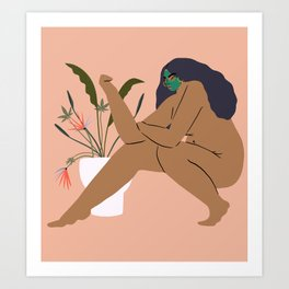 what is self care Art Print