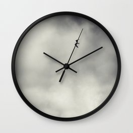 Flying solo Wall Clock