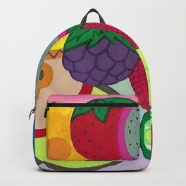 Fruity Circular Slices Backpack