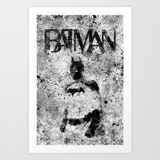 dark guardian Art Print