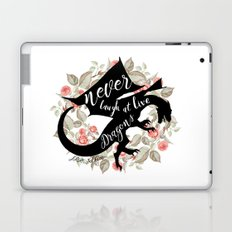 Never Laugh At Live Dragons Laptop & iPad Skin