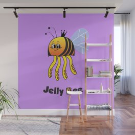 Jelly Bee Wall Mural