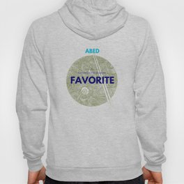 Community ABED Quotes Hoody